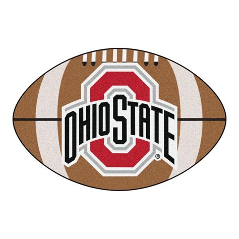 Ohio State Outdoor Rug Fanmats Ncaa Ohio State Brown 1 Ft 10 In X 2 Ft 11 In Specialty Accent Rug 1521