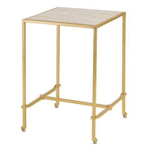 gold leaf side table gold leaf frame regency side table