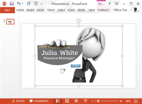 animated card powerpoint template animated business clipart for powerpoint