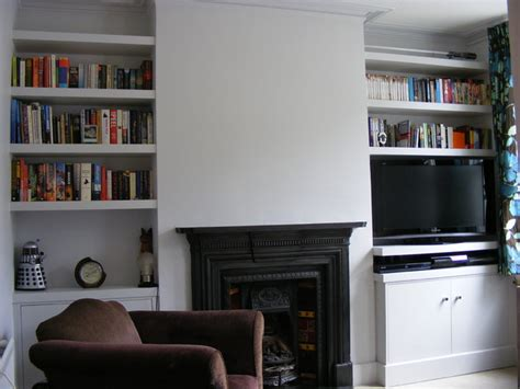 Living Room Alcove Cupboards by Alcove Cupboards And Shelves Modern Living Room