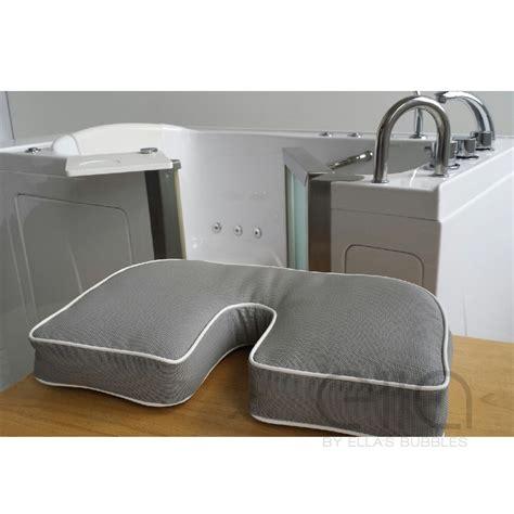 bathtubs accessories bathtub seat pillow and riserwith bidet cutout ella s