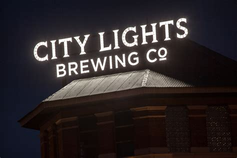 City Lights Brewing Company Poblocki Sign Company Llc