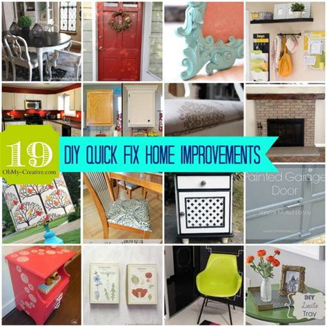 cheap diy home projects whimsy wednesday link 77 oh my creative