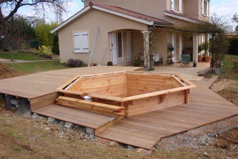 piscine en bois 229 terrasse en bois pour piscine hors sol best pose d une