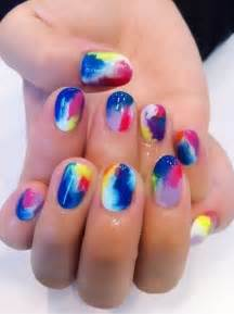 color nails bright nails color nail design nails