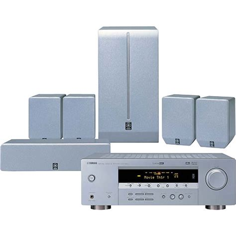 yamaha yht 270 home theater in a box system demo yht270sl b h