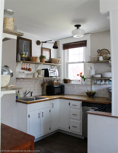 contemporary cottage kitchen makeover home our kitchen before after christinas adventures