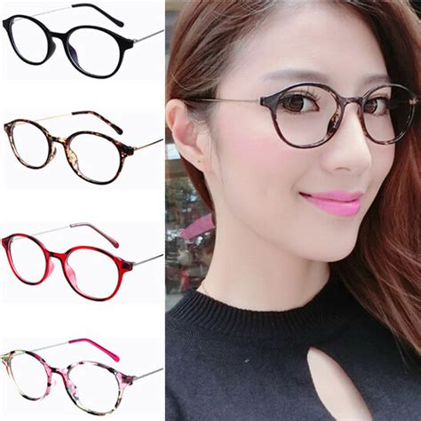 Trendy Eyeglasses 2017 by Retro Cintage Thin Metal Temple Round Eyeglasses Frame