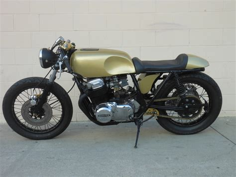 my motorcycles news honda cb750 caf 233 racer by whitehouse garage company bikes 1947 triumph
