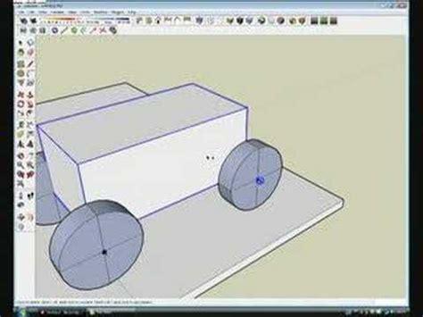 tutorial google sketchup physics sketchup sketchyphysics car tutorial doovi