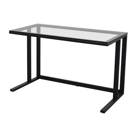 Crate And Barrel Office Desk 65 Crate Barrel Crate Barrel Pilsen Desk Graphite Grey Tables