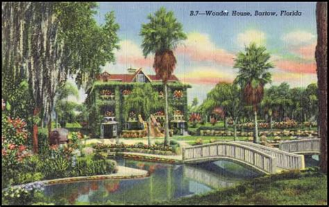 the wonder house swy s postcard wednesday the wonder house in bartow swy s florida