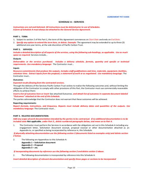general service agreement template free general service agreement sle free
