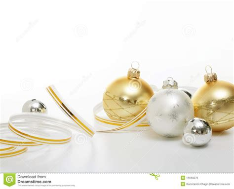 gold and silver christmas ornaments www pixshark com