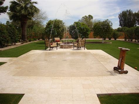 az backyards sports entertaining in your arizona landscape design