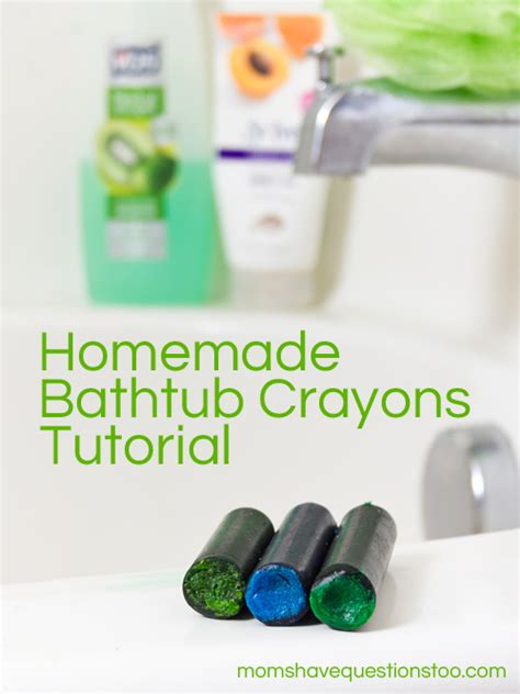 bathtub crayons recipe how to make homemade bathtub crayons moms have questions too