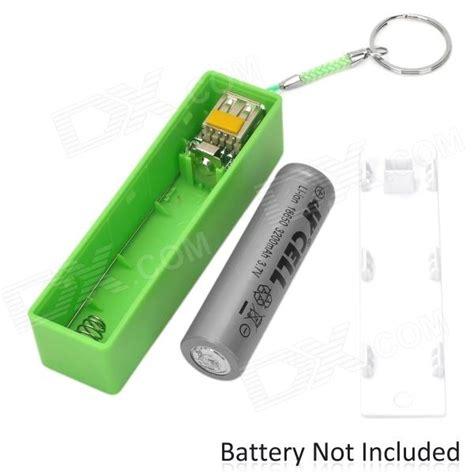 battery power bank universal 5v usb 1 18650 battery box power bank