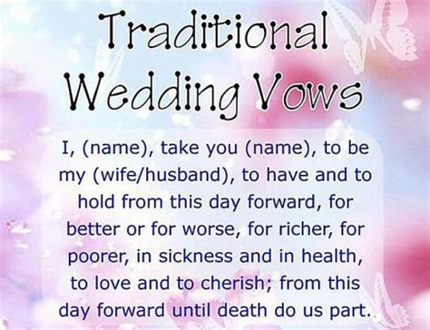 vow writing template how to write wedding vows exles and template