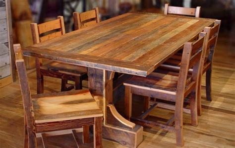 rustic dining room with wooden 4 bordeaux dining chairs 20 best images about trestle tables on pinterest farm