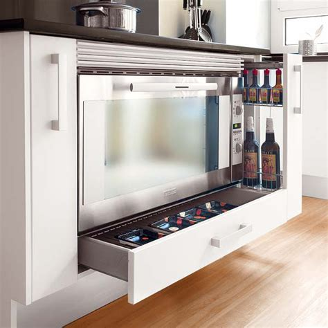 Oven Storage Drawer by Picture Of Oven Kitchen Drawers