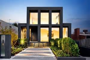 Home Design Gold Houses by House Facade Modern Large Window The Deca Deadline