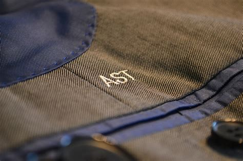how to monogram your custom suit the compass