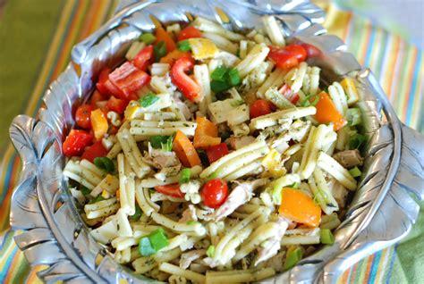 pesto salad pesto pasta salad nutritious eats