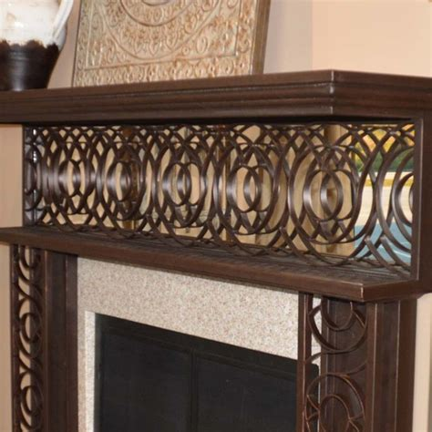 wrought iron accent l wrought iron fireplace mantel fireplace ideas