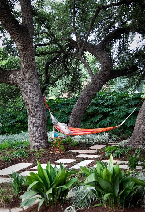 backyard hammocks summer spirit 25 cool outdoor hangouts with a hammock