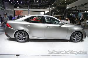 2016 lexus is 200t facelift at auto china 2016 side
