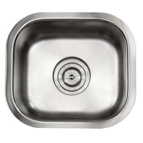 14 inch kitchen sink ariel pearl 14 inch stainless steel undermount single bowl