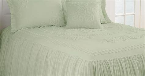 mary jane chenille tufted twin bedspread furniture