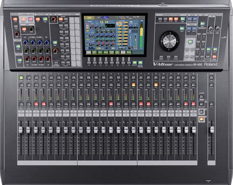Mixer Audio Roland roland m 480 48 channel live digital mixing console