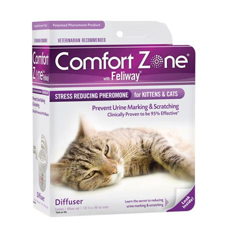 comfort zone cat diffuser comfort zone cat calmer cat calming spray comforting cat