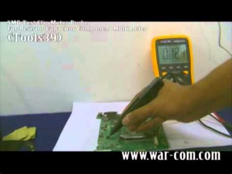 how to test smd capacitor smd test clip meter probe for resistor capacitor component multimeter tools39