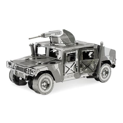 3d Metal Humvee fascinations iconx 3d metal earth steel model kit humvee shopifx
