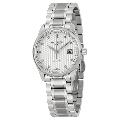 longines master collection automatic stainless steel