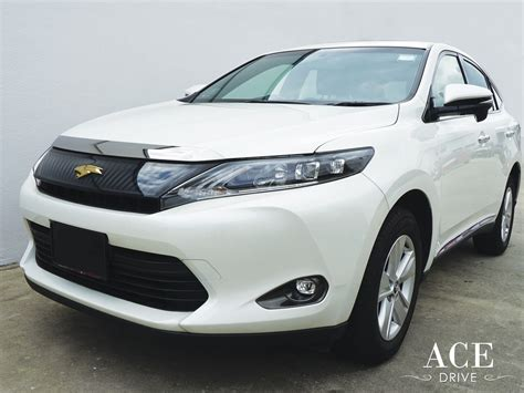 toyota a rent lease a toyota harrier by ace drive car rental