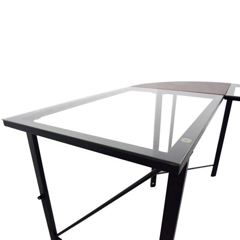 altra furniture aden corner glass computer desk 86 off altra furniture altra furniture aden corner