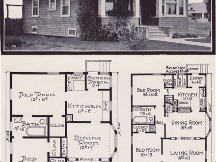 1929 craftsman bungalow floor plans 1920s bungalow floor 1929 craftsman bungalow floor plans 1920s bungalow floor