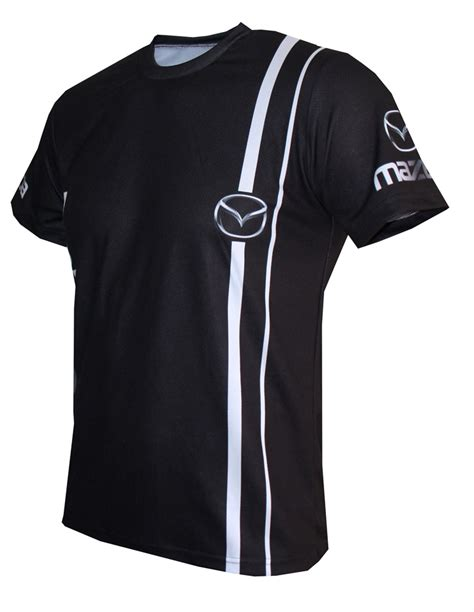 Tshirt Mazda mazda t shirt with logo and all printed picture t