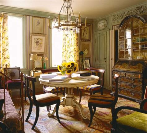 World Of Interiors by Dining Room Manhattan Apartment Of Hamish Bowles Vogue S