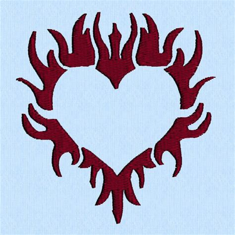 flaming heart tattoo designs 100 best tribal designs for and