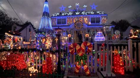 where best top view christmas decoration lights in colorado springs families with the best light displays abc news