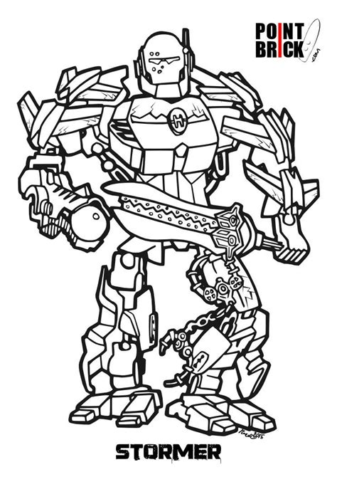 hero factory coloring pages to print coloring pages
