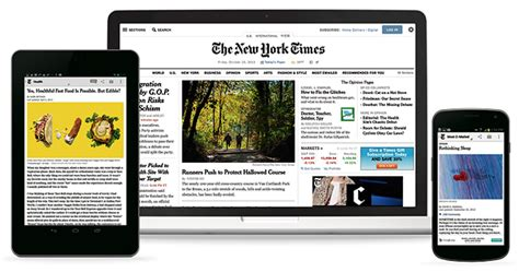 new york times mobile app the new york times digital subscription featuring the