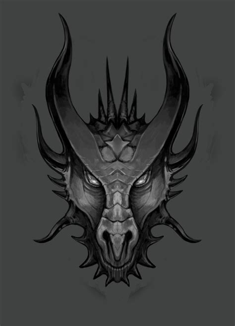 dragon s head sketch 02 by lawrencemann on deviantart