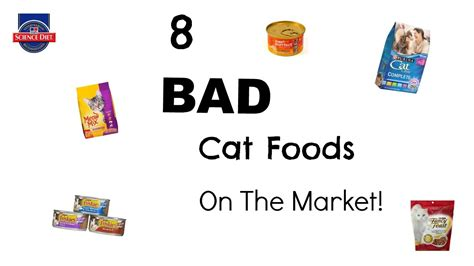 is food bad for cats worst cat food