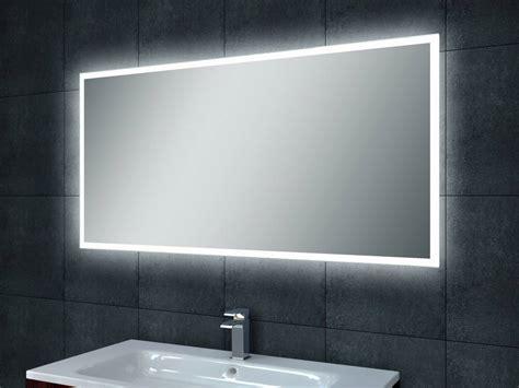 splash spiegel aqua splash quattro dimbare led spiegel 100x60cm