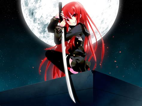 anime ninja anime ninja with blood red hair anime pinterest